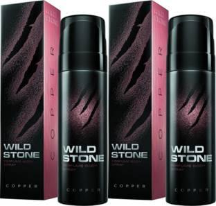 Wild Stone Copper Deodorant Spray Combo Set