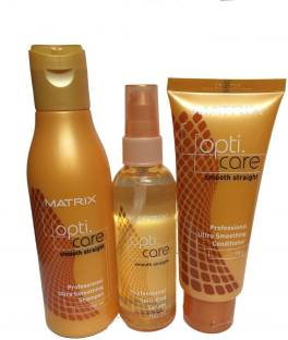 Matrix Opticare Smooth Shampoo (200ml) Conditioner (98 G) Serum (100ml)