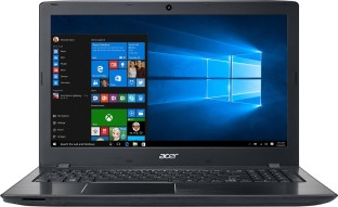 Acer Aspire E APU Quad Core A10 - (4 GB/1 TB HDD/Windows 10) NX.GESSI.003 E5-553-T4PT Notebook  (15.6 inch, Obsidian Black, 2.39 kg)