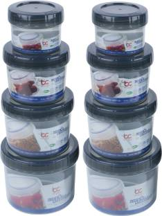 Bel Casa Lock & Store Spin  - 150 ml, 300 ml, 500 ml, 730 ml Polypropylene Multi-purpose Storage Container