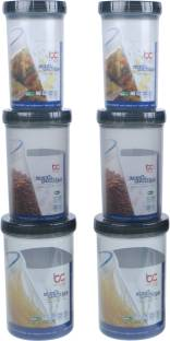 Bel Casa Lock & Store Spin  - 750 ml, 1000 ml, 1400 ml Polypropylene Multi-purpose Storage Container