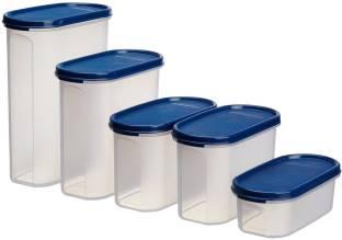 Signoraware  - 500 ml, 1100 ml, 1100 ml, 1700 ml, 2300 ml Polypropylene Food Storage