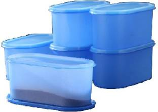 Tallboy Mahaware(micro oven safe) space saver containers Aqua blue - 600 ml Polypropylene Food Storage