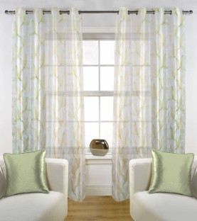 Story@Home Polyester Window Curtain 152 Cm (4 Ft) Pack Of 2