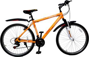 "Addo India 26"" Tornado Orange 21 Speed DS-DD-TORNoDO Mountain Cycle"