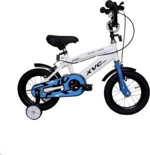 """Addo India 12"""" XVC White European Series Kids Bicycle. XVC01 BMX Cycle"""
