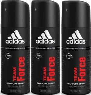 ADIDAS team force Deodorant Spray  -  For Men