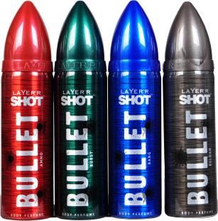 LAYER'R SHOT – BULLET BANG Deodorant Spray - For Men - Price