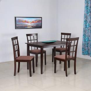 home by Nilkamal Kartell Engineered Wood 4 Seater Dining Set Price