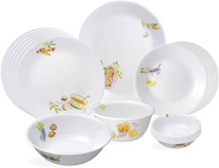 Corelle Organic Recipe Pack of 21 Dinner Set