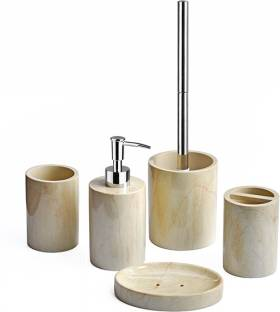 Shresmo Polyresin Bathroom Set