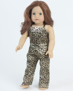"Cheetah Print Loafers Shoes fits 18/"" American Girl Doll Clothes"