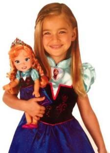 Disney Frozen Silver Snowflakes Elsa Wig Exclusive Dress Up Toy ... 890d571fd02a
