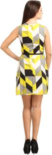 Color Fuel Women's Sheath Multicolor Dress