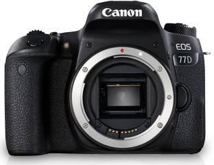 Canon EOS 77D DSLR Camera (Body Only) (16 GB SD Card + Camera Bag)