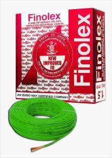 Finolex Fr Pvc Pvc 1 5 Sq Mm Green 90 M Wire