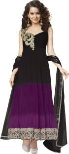 Silkbazar Georgette Self Design Salwar Suit Dupatta Material