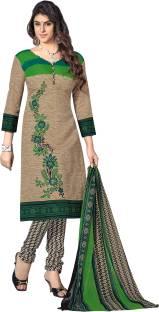 Jiya Cotton Printed Salwar Suit Dupatta Material