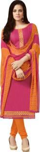 Paroma Art Cotton Embroidered Salwar Suit Dupatta Material
