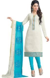 Khoobee Jacquard Self Design, Embroidered Salwar Suit Dupatta Material