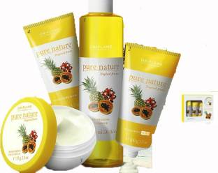 pure nature Tropical Fruits Facial Kit For Normal To Dry Skin