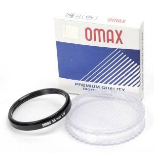 OMAX 58mm UV Filter for Canon EF-S 55 - 250 mm f/4-5.6 IS II UV Filter