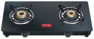 Prestige Marvel Glass Top Gas Table GTM 02 Glass, Steel Manual Gas Stove