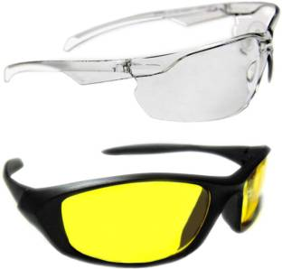 750c100b4fa Kawachi Outdoor Sports Night Vision Driving Yellow Sunglass Plus ... 3.4 ☆.  (16). ₹349. ₹1
