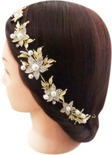 3fca6b13e7856 WigOWig Beautiful Hair Brooches for Ladies Hair Band Price in India ...