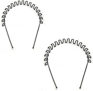 Vogue Metal Zig Zag Casual Unisex Hair Band