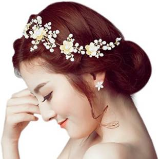 237f44bffc6 WigOWig Beautiful Rani Hair Brooches for Ladies Hair Band Price in ...