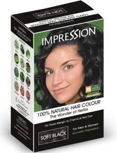 IMPRESSION 100% Natural Herbal , Soft Black