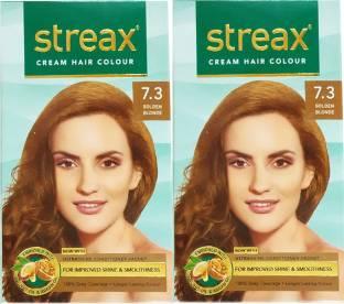 Streax Cream, Pack of 2, , Golden Blonde