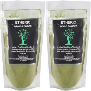 Etheric Organic Indigo Powder Combo Pack , Khaki
