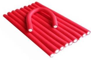 Styler Soft Stick Self Holding Roller Red Pack Of 10 Hair Curler