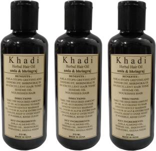 Khadi Herbal Amla & Bhringraj Hair Oil