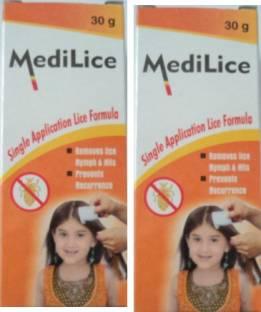 MediLice Shampoo Herbal Hair Oil
