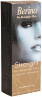 Berina Hair Straightener Cream With Fixer Neutralizer- For Professional Use Hair Cream