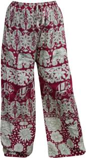 Indiatrendzs Printed Rayon Women's Harem Pants