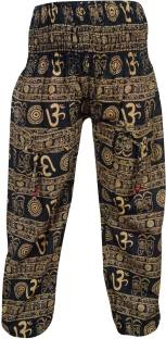 Indiatrendzs Printed Cotton Women's Harem Pants
