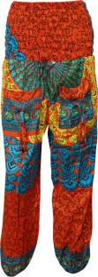 Indiatrendzs Printed Poly Cotton Women's Harem Pants