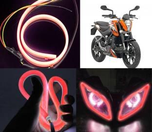 Xtremeonlinestore LED Headlight For KTM Duke 200 Price in