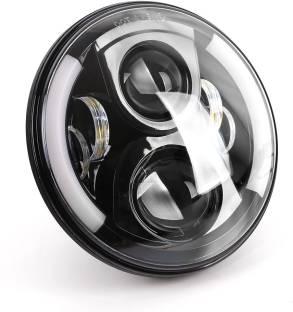 corebikerz led headlight for harley davidson royal enfield classic