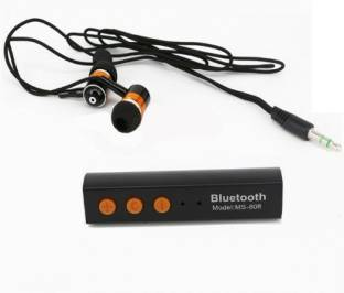 A Connect Z MS 808U Headst Good sound Stud 759 Bluetooth Headset Black, In the Ear