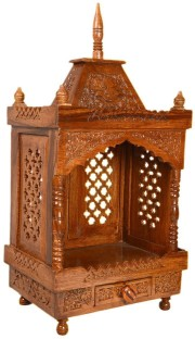 Small Wooden Temple Design For Home. Best Hindu Small Temple ...
