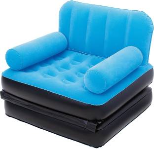 Best Way Karmax Multi-Max Air Couch (Single) PVC 1 Seater Inflatable Sofa
