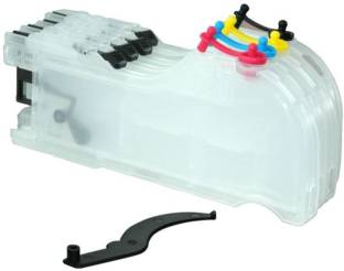 Dubaria Empty Refillable Cartridge For Brother J100, J105 & J200 Printers Compatible With Brother LC