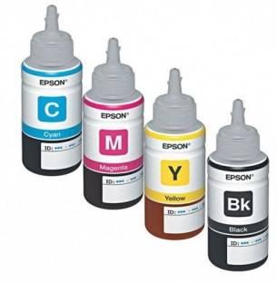 Epson T664 Four Pcs Set Multi Color Ink Cartridge