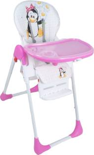Toy House Baby Premium High Chair Pink