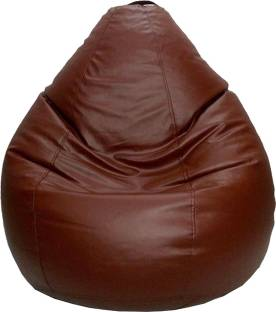 Psygn Large Teardrop Bean Bag With Filling